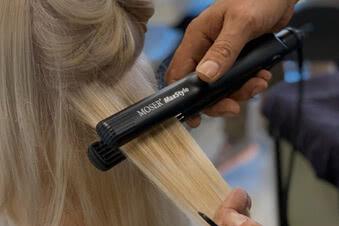 Crimping hair: